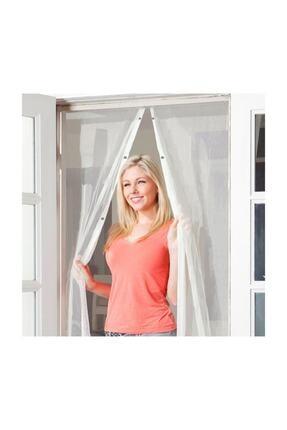 zabata 205 X 105 Cm Mıknatıslı Kapı Sinekliği Sinek Sivrisinek Kovucu Tül Sineklik