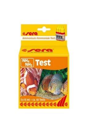 SERA Nh4 Nh3 Test Akvaryum Için Amonyum Amonyak Testi 15ml