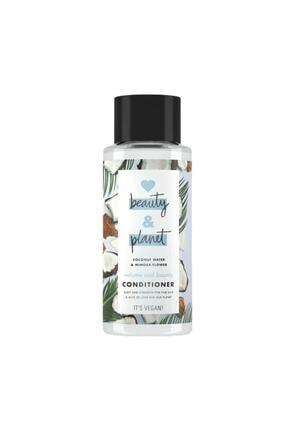 Love Beauty and Planet Hindistan Cevizi Suyu Ve Mimoza Çiçeği Özlü Saç Kremi - 400 Ml