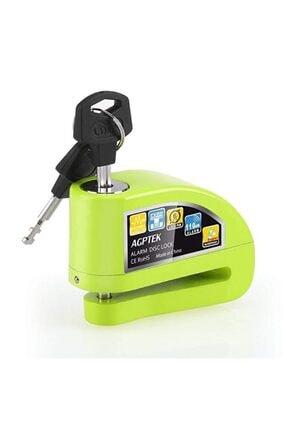 Locks Alarmlı Disk Kilidi Motosiklet Ve Bisiklet Için