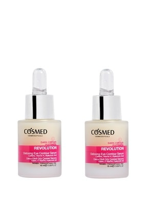 COSMED Revolution Detoxing Eye Contour Serum 15 Ml X 2