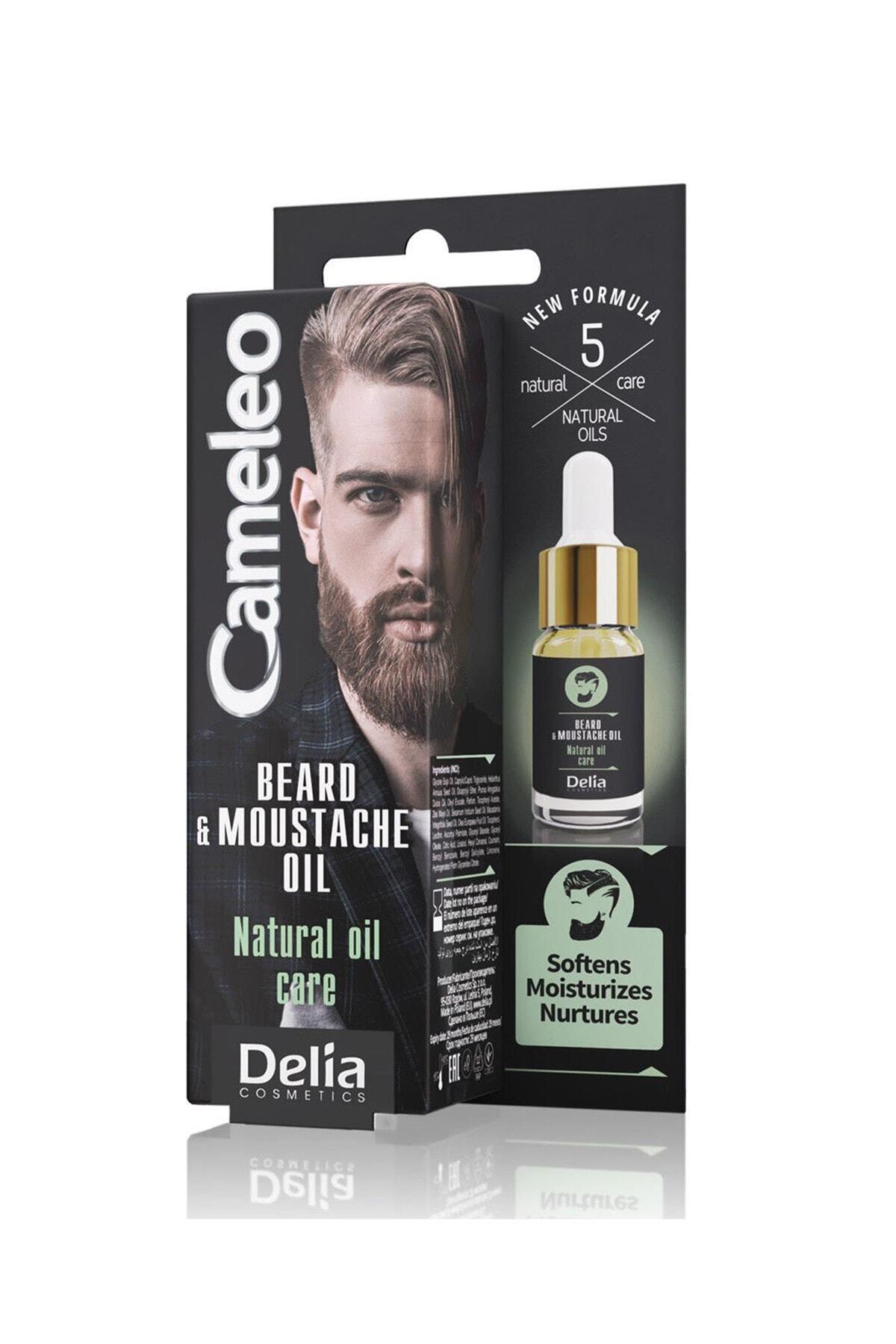 Delia Cameleo Beard & Moustache Sakal ve Bıyık Serumu 10 ml 1
