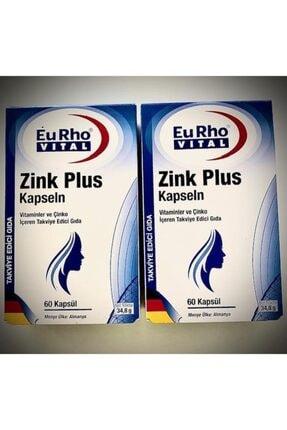 Eurho Vital Zink Plus Kapseln * 2 Adet 60 Kapsül