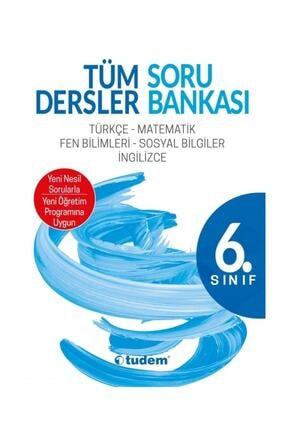 Tudem Yayınları 6. Sınıf Tüm Dersler Soru Bankası