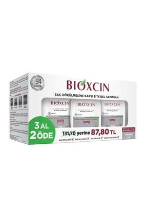 Bioxcin Saç Dökülmesine Karşı Şampuan 3'lü