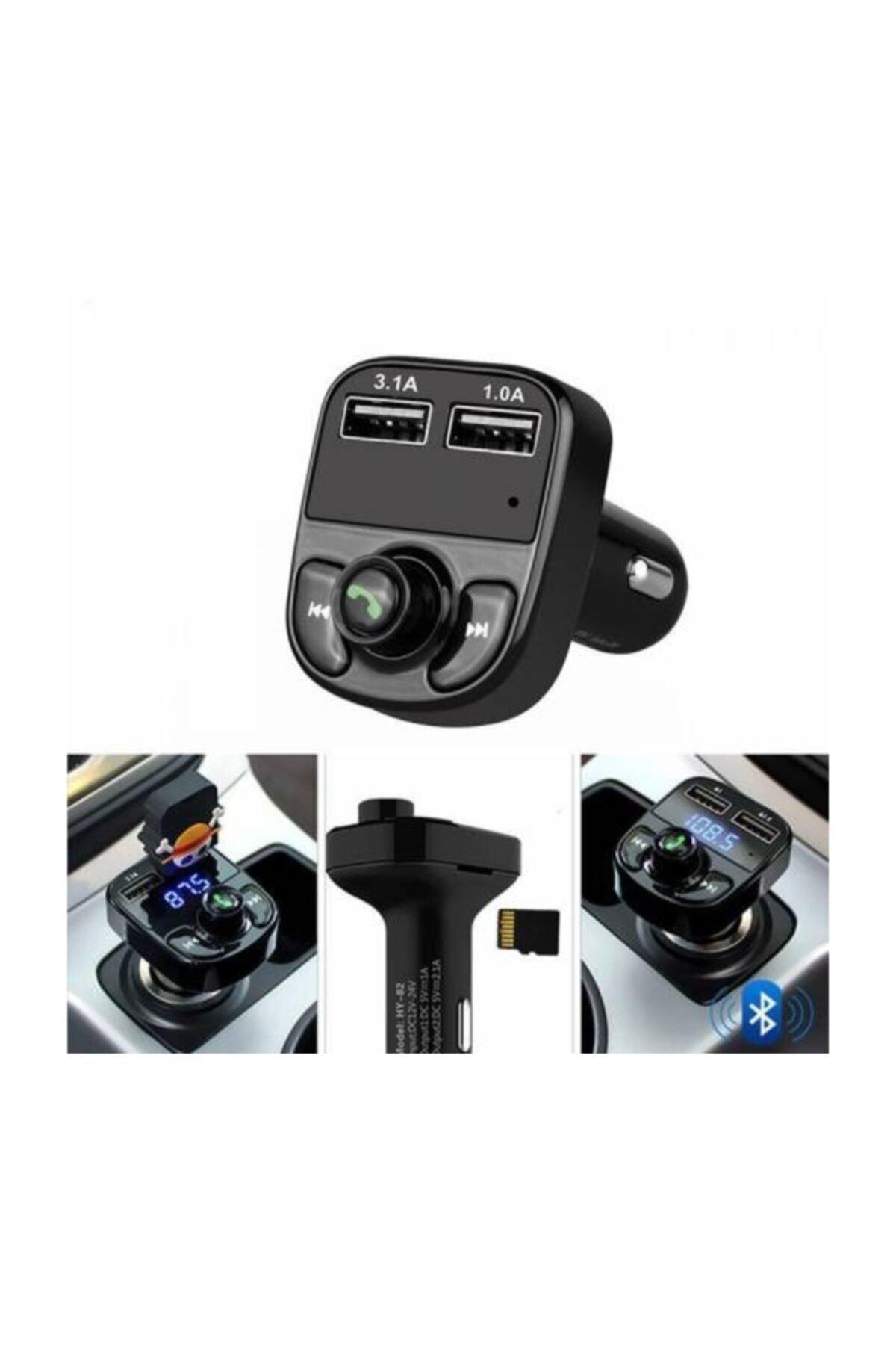 Concord Car X8 Araç Fm Transmitter,bluetooth,usb,mp3,sd Kart Çakmaklık Girişli Oto Müzik Çalar Kiti 2