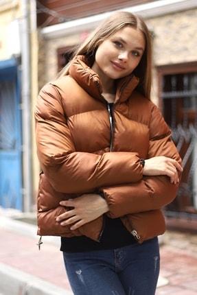 SİVAİST Kadın  Kahverengi Armato Şişme Mont