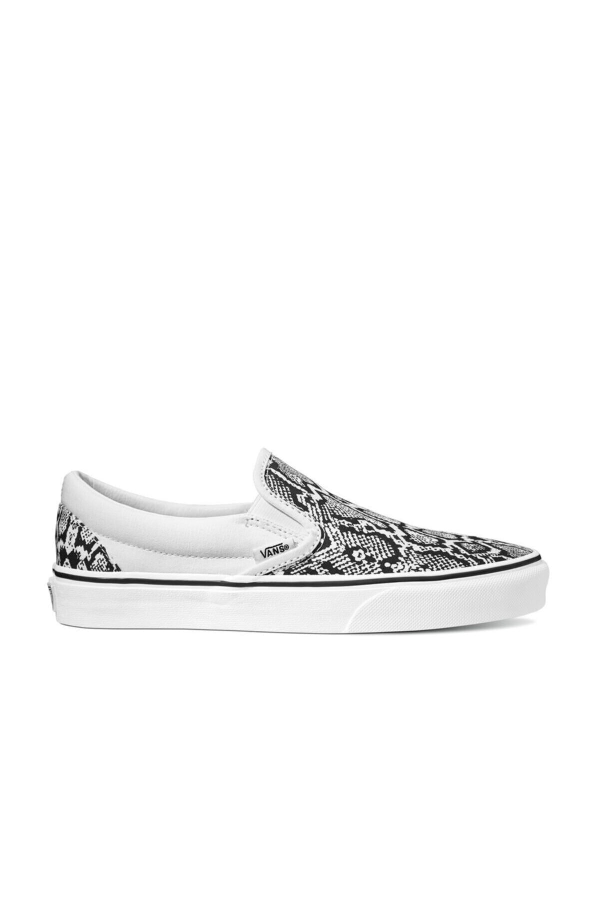 Vans UA CLASSIC SLIP-ON Beyaz Kadın Slip On Ayakkabı 100583587 1