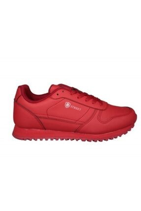 MP Kadın Kırmızı Bağcıklı Spor Ayakkabı