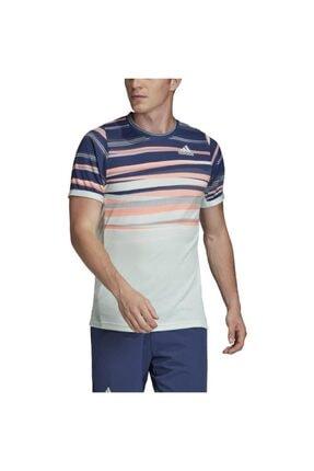 adidas Erkek Lacivert Flft Tee H.rdy T-shirt