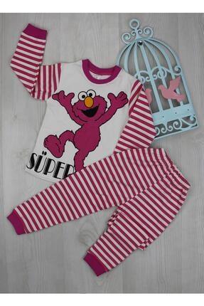 BabyModa Elmo Baskılı Pijama Takımı