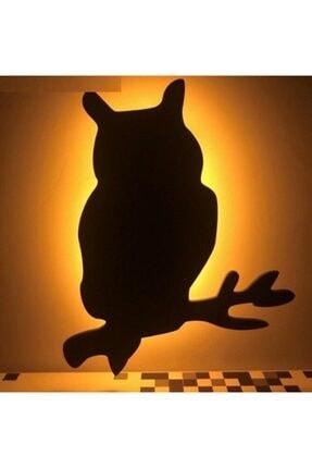 Doğuş Dogusdeco Baykuş Led Ses Ve Işık Sensörlü Gölge Gece Lambası