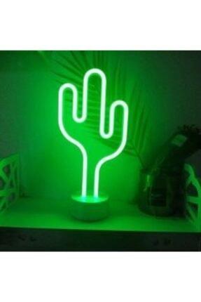 Doğuş Dogusdeco Kaktüs Neon Led Işıklı Masa-gece Lambası Dekoratif Neon Led Lamba