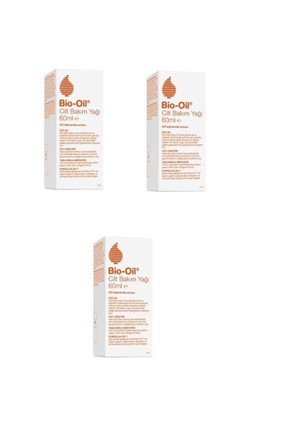 Bio-Oil Bio Oil Cilt Lekelerine Karşı Bakım Yağı 60ml *3 Adet 1
