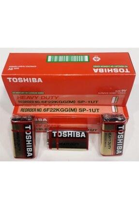 Sahibicinde Toshiba 9v Manganez Kare Pil 10'lu Ambalaj