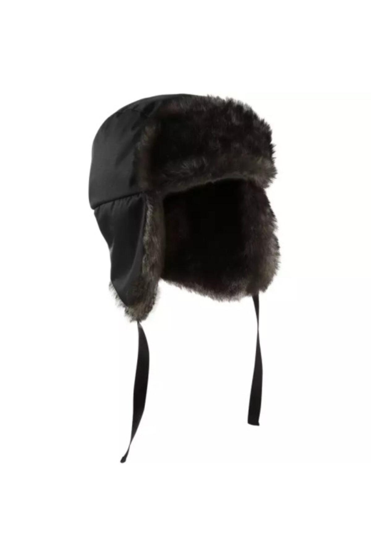 Meridyen Dukkan Kışlık Şapka Outdoor Kürklü Kalpak 1
