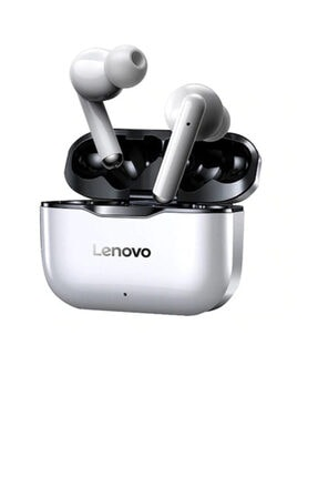 LENOVO Kablosuz Kulaklık Bluetooth 5.0 Çift Stereo Gürültü Azaltma Hıfı Bas Dokunmatik 300 Mah