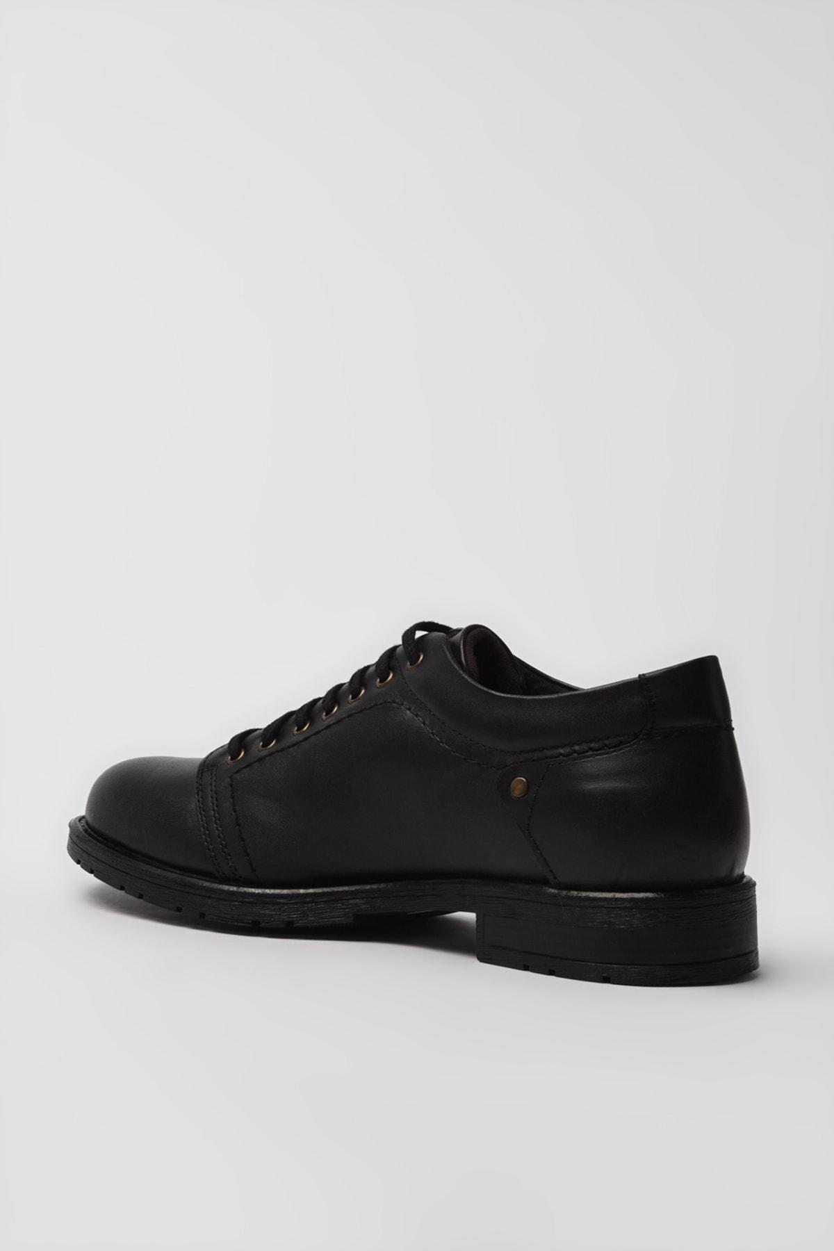 Yaya  by Hotiç Hakiki Deri Siyah Erkek Casual Ayakkabı 02AYY194960A100 2