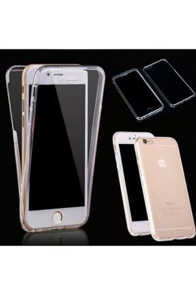 HongYuan Apple Iphone Xs Max Şeffaf Tam Full Koruma Olan Arkali Önlu 360 Derece Koruyucu Kilif