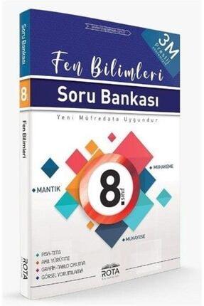 Rota Yayınları 8.sınıf Fen Bilimleri Soru Bankası 3m Prestij