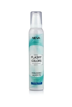 Flashy Colors Renkli Saç Köpüğü Turkuaz 8698636611299