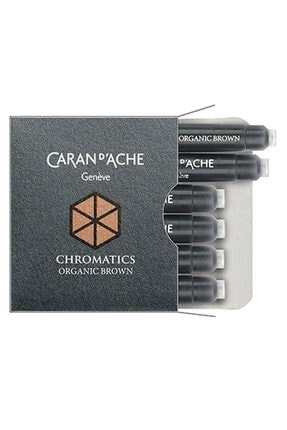 Caran d'Ache Dolma Kalem Kartuşu Organic Brown 8021-049