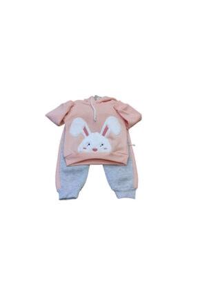 Pauline Kız Bebek 2'li Tavşan Modelli Takım