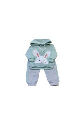 Pauline Kız Çocuk 2li Tavşan Modelli Takım