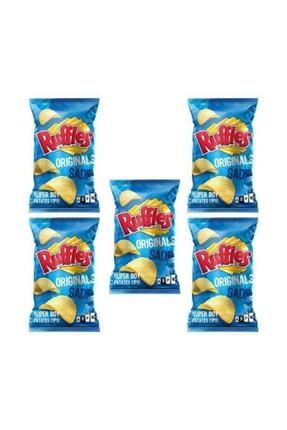 Ruffles Orjinal Sade Patates Cipsi 103 Gr X 5 Ad