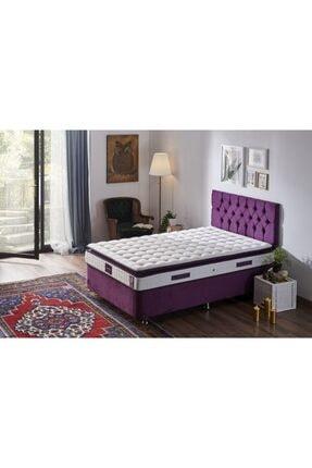 Niron Yatak Niron Purple 100x200 Tek Kişilik Pedli Yatak Full Ortopedik Yaylı Yatak