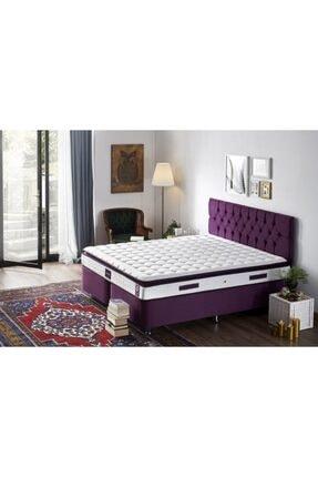 Niron Yatak Niron Purple 150x200 Çift Kişilik Pedli Yatak Full Ortopedik Yaylı Yatak