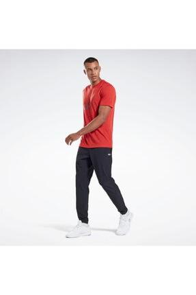 Reebok Erkek Kırmızı Graphic Series Speedwick Tişört