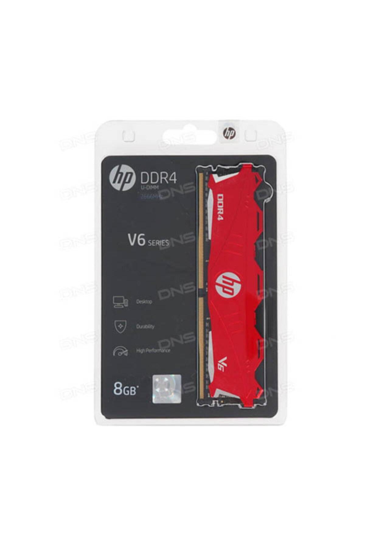 HP V6 2666 Mhz U-dımm 1rx8 8gb 1