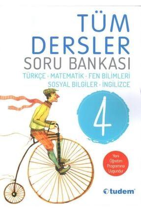 Tudem Yayınları Tudem 4.sınıf Tüm Dersler Soru Bankası