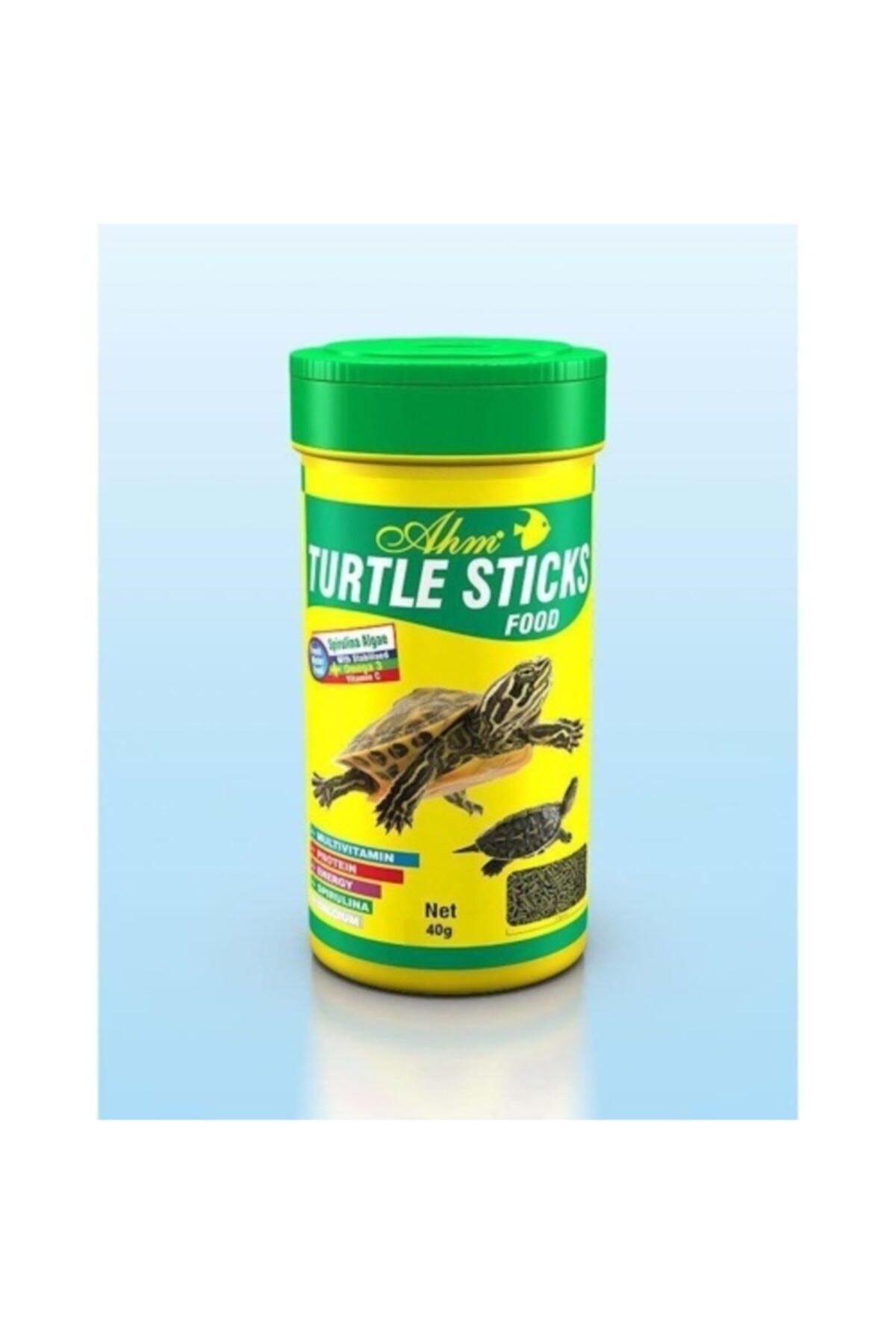 Ahm Turtle Stick Green Food 3 Adet 1