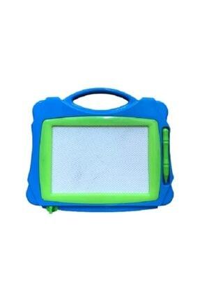 Misalanka Mıknatıslı Kalemli Yazı Tahtası 24 cm Mavi Yeşil
