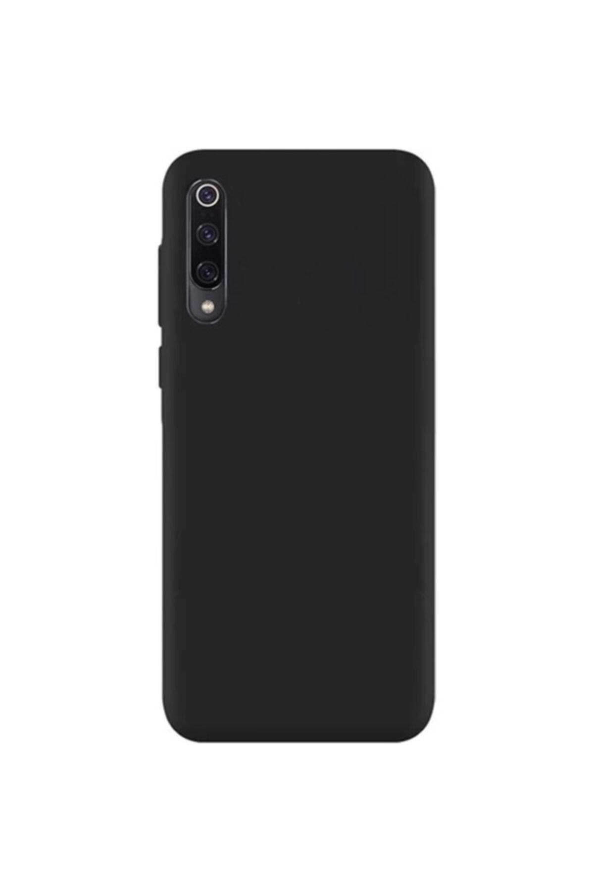 Zengin Çarşım Xiaomi Mi 9 - Mi 9 Lite Yumuşak Silikon Kılıf Siyah 1