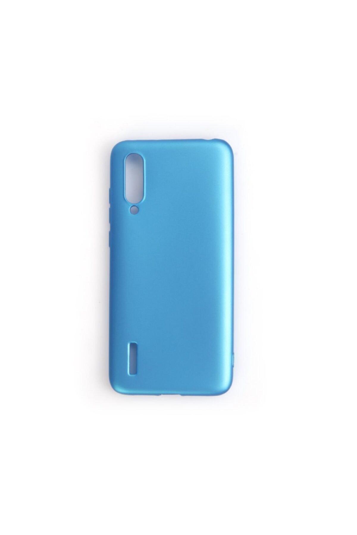 Zengin Çarşım Xiaomi Mi 9 - Mi 9 Lite Yumuşak Silikon Kılıf Mavi 1