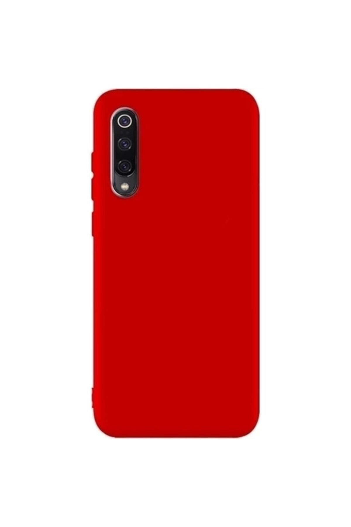 Zengin Çarşım Xiaomi Mi 9 - Mi 9 Lite Yumuşak Silikon Kılıf Kırmızı 1