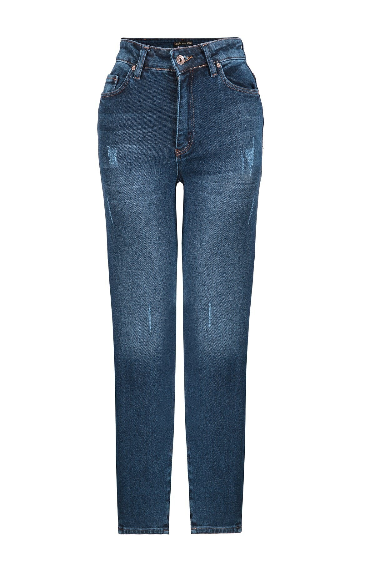 Oblavion Kadın Mavi Mom Jeans 1