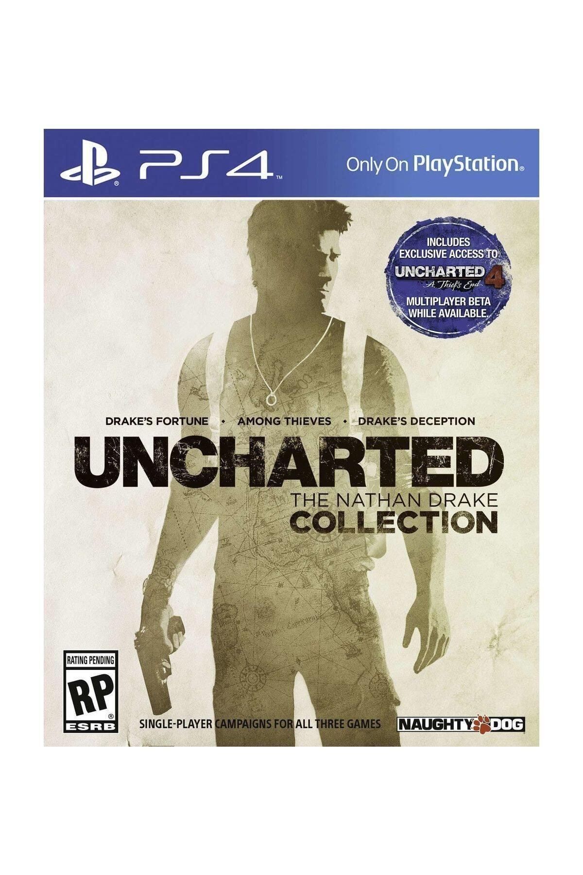 Naughty Dog Uncharted : The Nathan Drake Collection  - Türkçe Dublaj Ps4 Oyun 1