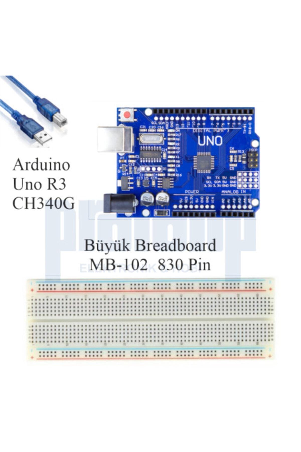 Arduino Uno R3 ( Ch340g ) Ekonomik Set 67 Parça 235 Adet 2