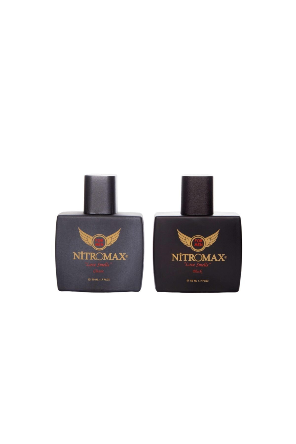 Nitromax Edp 50 Ml Erkek Parfümü (classic Ve Black ) 1