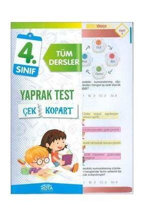 RTY Rota Yayınları 4.sınıf Tüm Dersler Çek Kopart Yaprak Test Yeni