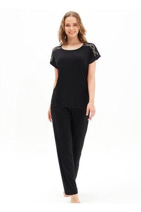 Blackspade Kadın Siyah Pijama Takımı