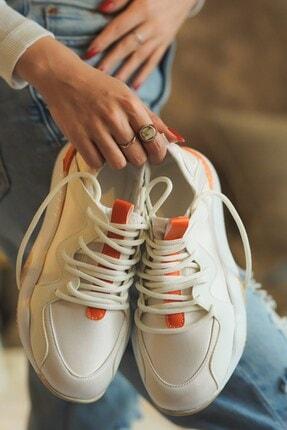 DİVOLYA Birdy Turuncu Renkli Günlük Kadın Spor Ayakkabı