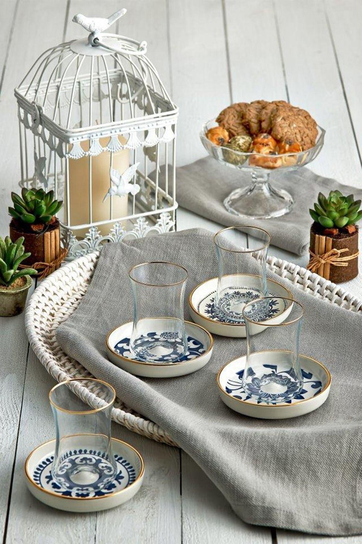 Koleksiyon1 6'lı Tiryaki Çay Seti Güz 31000040216 2