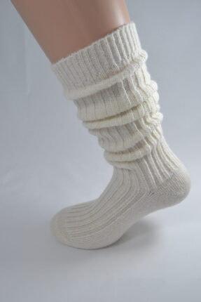 Bamuta Yün Dizaltı Bot Çorabı