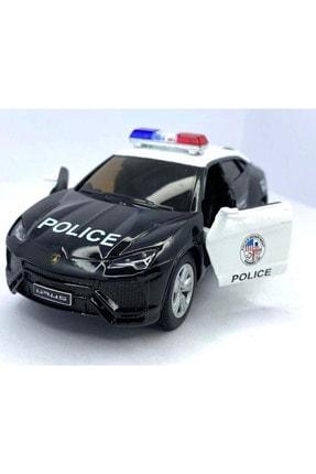 Vardem Diecast,metal Oyuncak Araba Lamborghini Urus Polis Çek Bırak 1:36 Ölçek 12 cm