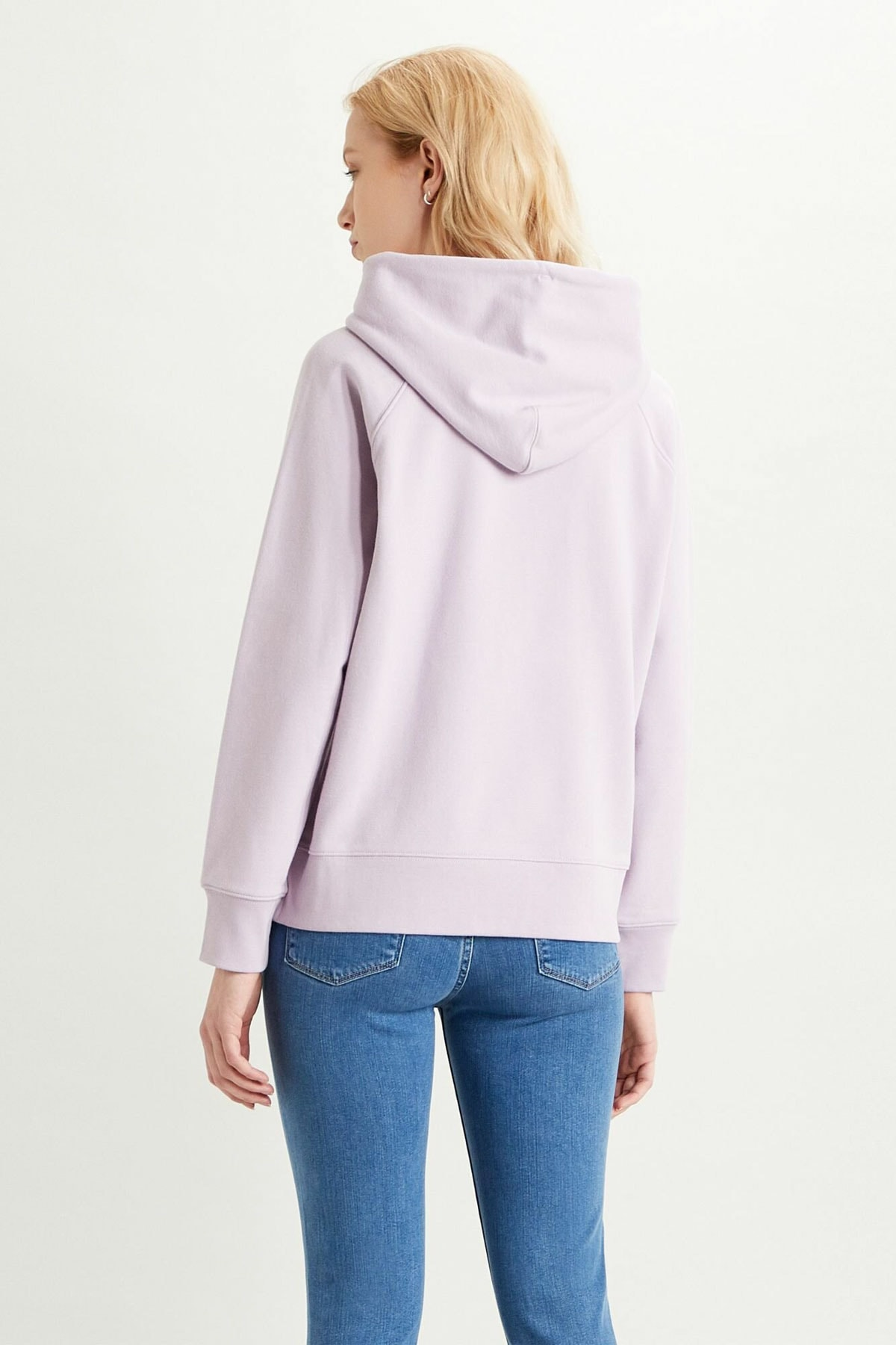 Levi's Kadın Graphic Sport Hoodie Sweatshirt 35946-0206 2